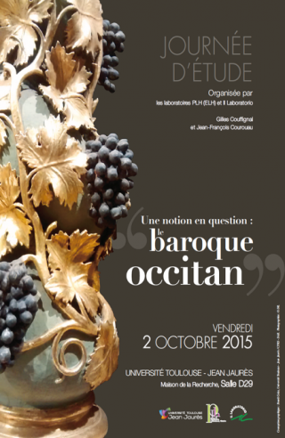 Couverture de Le baroque occitan : une notion en question